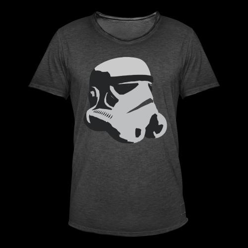 Stormtrooper Helmet - Men's Vintage T-Shirt