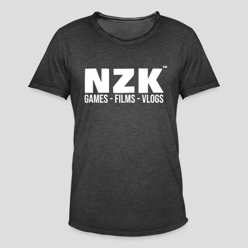 NZK - Mannen Vintage T-shirt