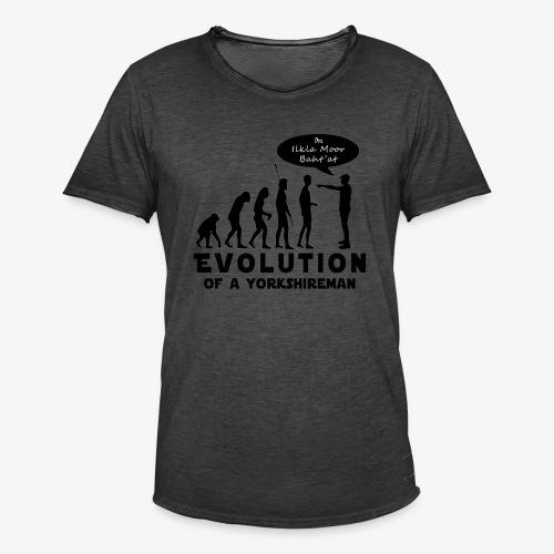 Evolution of a Yorkshireman - Men's Vintage T-Shirt