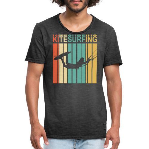 Kitesurfing - T-shirt vintage Homme