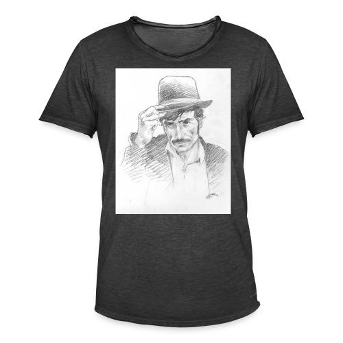 b129 - T-shirt vintage Homme