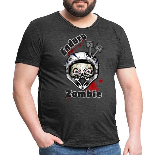 Enduro Zombie - Männer Vintage T-Shirt