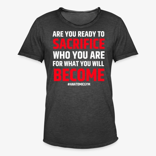 ARE YOU READY - T-shirt vintage Homme
