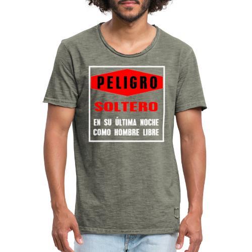 Peligro soltero - Camiseta vintage hombre