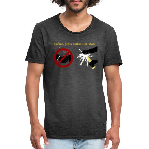 corona - Vintage-T-shirt herr