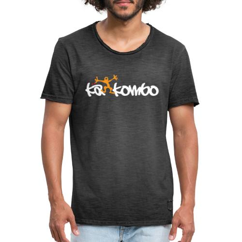 Logo Käkombo - Männer Vintage T-Shirt