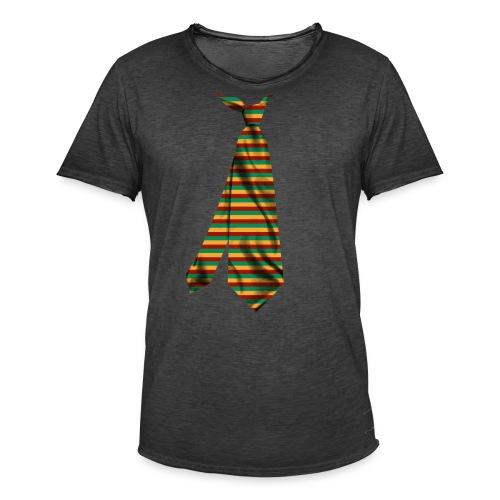 printed funny necktie t shirt design gift idea - Maglietta vintage da uomo