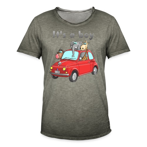 It's a boy - Baby - Cartoon - lustig - Männer Vintage T-Shirt
