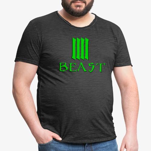 Beast Green - Men's Vintage T-Shirt