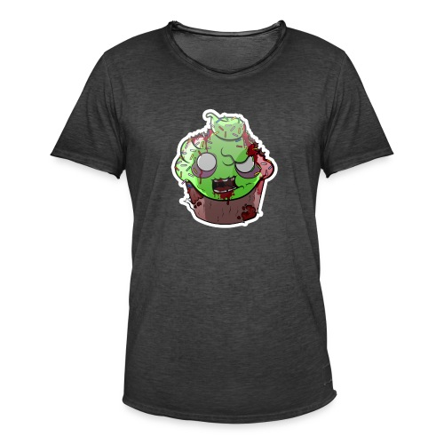 Cupake zombie couleur - T-shirt vintage Homme