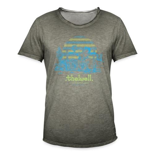 Thelwell Cartoon Pony Sieg - Männer Vintage T-Shirt