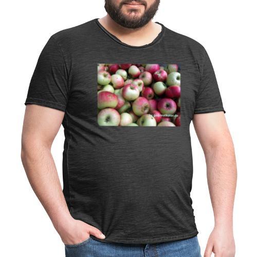 Äpfel - Männer Vintage T-Shirt