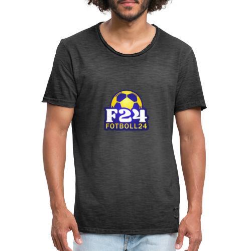 Fotboll24 - Vintage-T-shirt herr