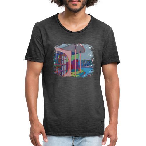 Berlin - Männer Vintage T-Shirt