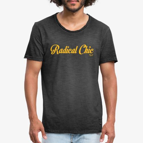 radical chic - Maglietta vintage da uomo