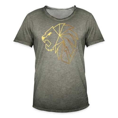 Löwe, Lion Inside - Männer Vintage T-Shirt