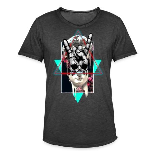 Techno Grecia - Camiseta vintage hombre