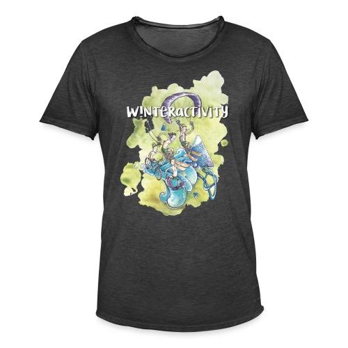 WINTERACTIVITY - T-shirt vintage Homme