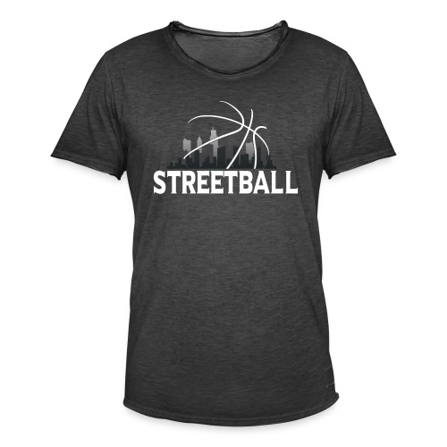 Streetball Skyline - Street basketball - Men's Vintage T-Shirt