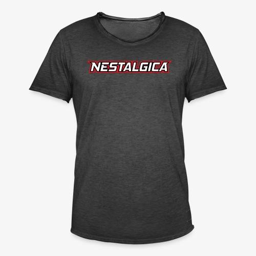 Nestalgica Logo - Men's Vintage T-Shirt