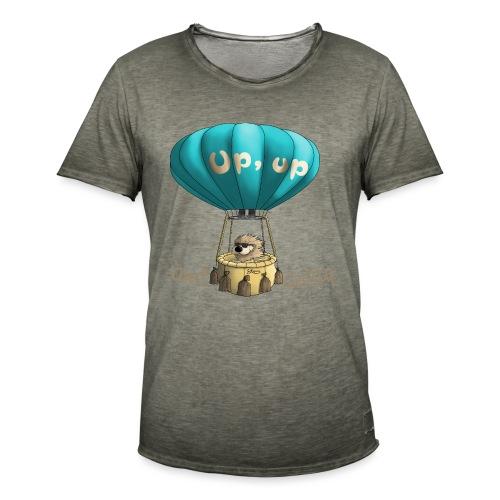 Up up and away - Auf und davon - Männer Vintage T-Shirt