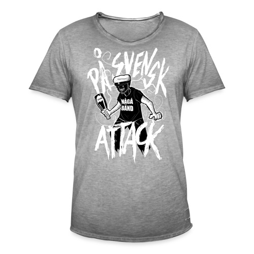 På Svenska Tack - Men's Vintage T-Shirt