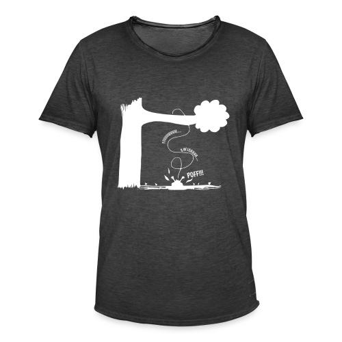 Swishhh N Poff Bird - Miesten vintage t-paita