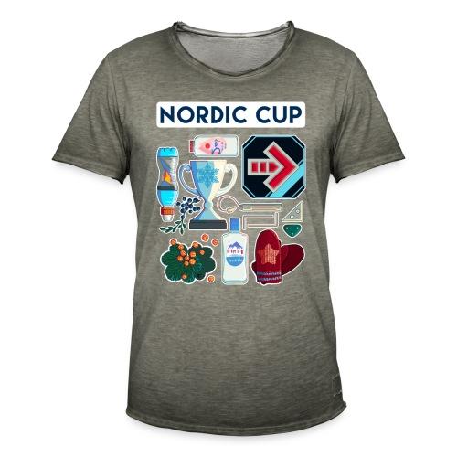 Nordic 2018 - Miesten vintage t-paita