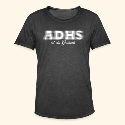 ADHS - Männer Vintage T-Shirt