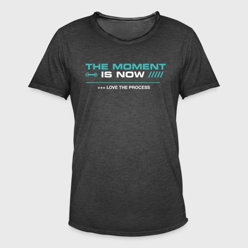 THE MOMENT IS NOW - Camiseta vintage hombre