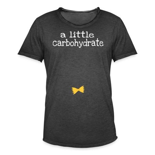 A Little Carbohydrate - Men's Vintage T-Shirt