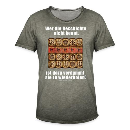 71_Geschichte_Lernen - Männer Vintage T-Shirt