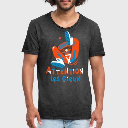 Chute Libre - T-shirt vintage Homme