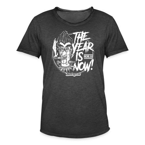 Batzer The Year - Mannen Vintage T-shirt