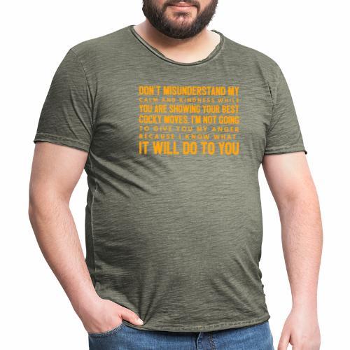 confidence - Herre vintage T-shirt
