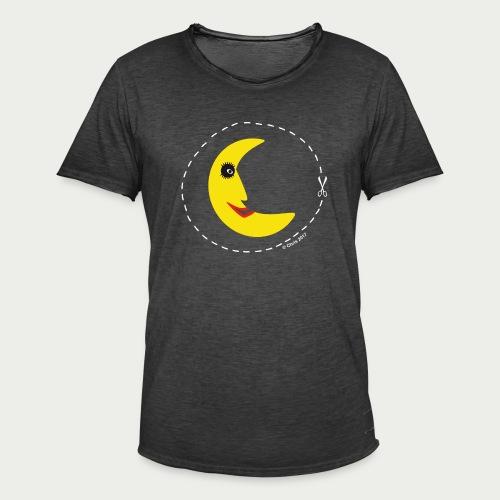 Mann im Mond - Männer Vintage T-Shirt