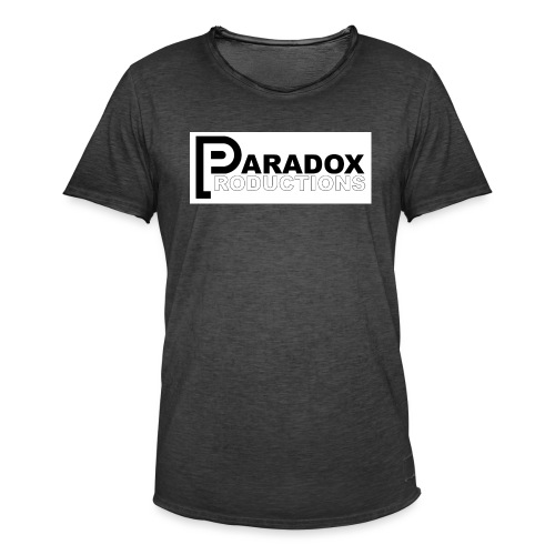 Logo Paradox Prod - T-shirt vintage Homme