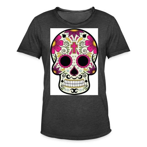 tête messico - T-shirt vintage Homme