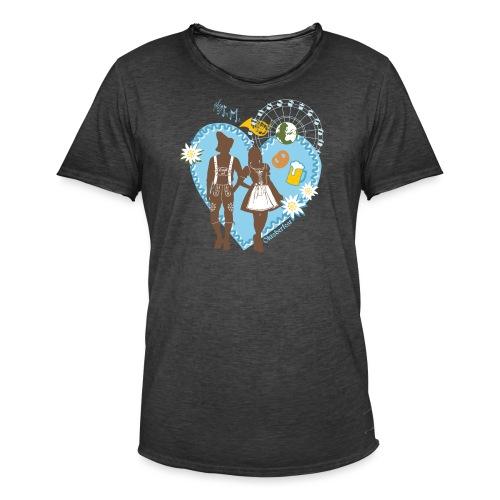 Oktoberfest_Trachtenpar 2 - Männer Vintage T-Shirt