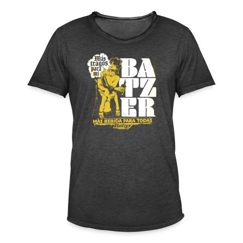 Batzer Drinks - Mannen Vintage T-shirt