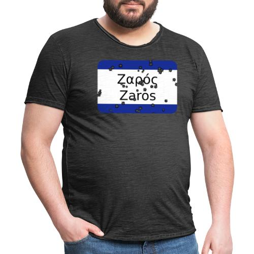 mg zaros - Männer Vintage T-Shirt