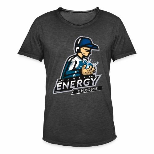 Gamers Energy Chrome - T-shirt vintage Homme