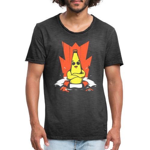 Platano en peligro - Camiseta vintage hombre