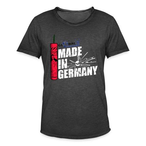 Global Fireworks Knaller - Männer Vintage T-Shirt