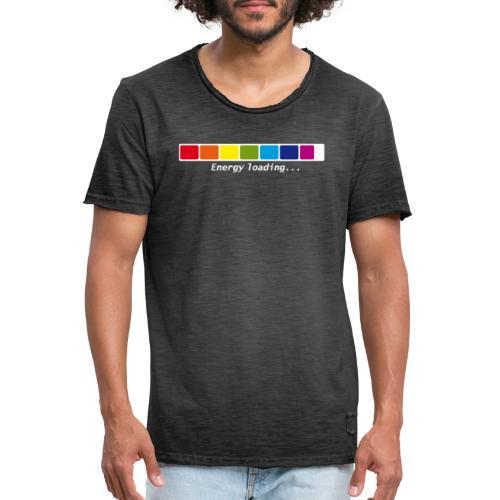 Energie Loading Chakras - Männer Vintage T-Shirt
