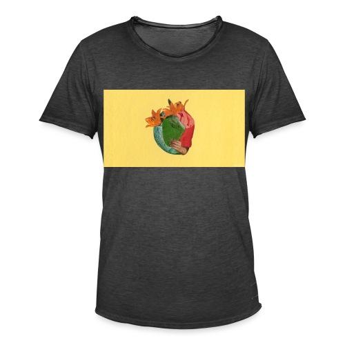 Heartbeat - Men's Vintage T-Shirt