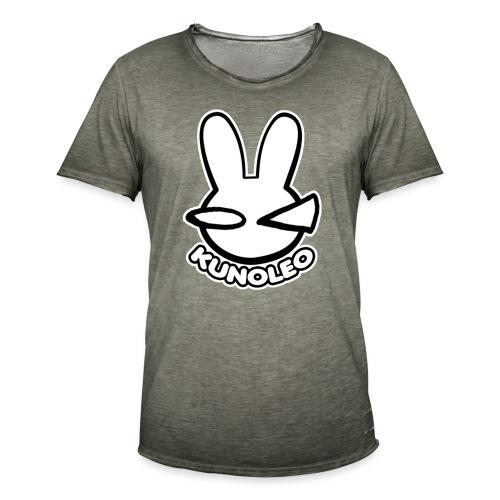 KUNOLEO LOGO - Men's Vintage T-Shirt