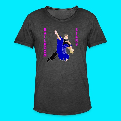 Ballroom Stars 2 - Männer Vintage T-Shirt