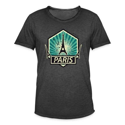 PARIS, FRANCE - Men's Vintage T-Shirt