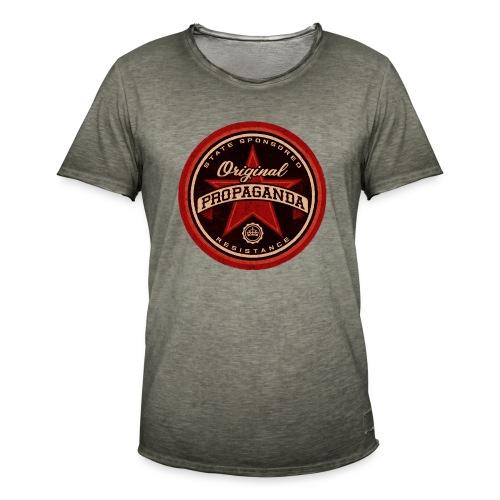 ORIGINAL PROPAGANDA - Men's Vintage T-Shirt